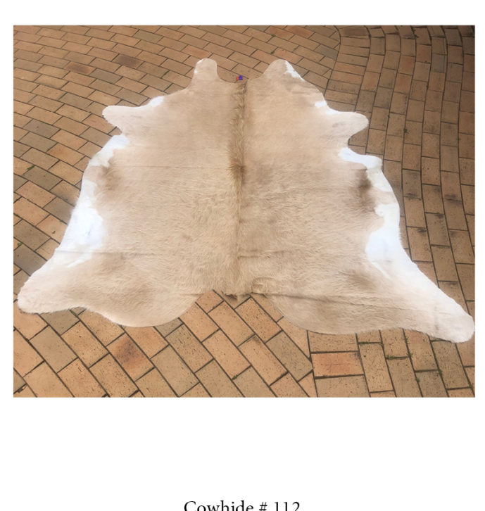 Natural Cowhide Rug- No.112