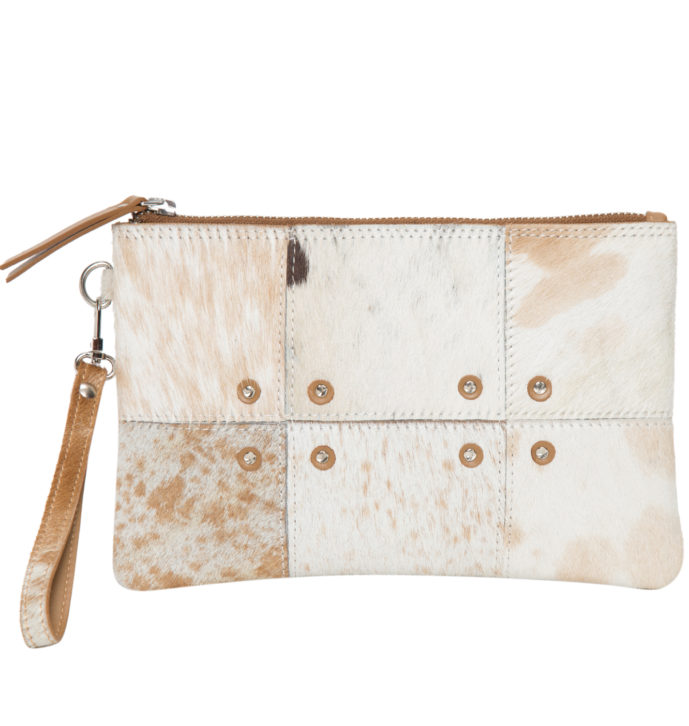 Patched Hairon Clutch – FLA03