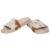 Hairon Slippers Cowhide Footwear (Shoe59 – Min 6pcs)