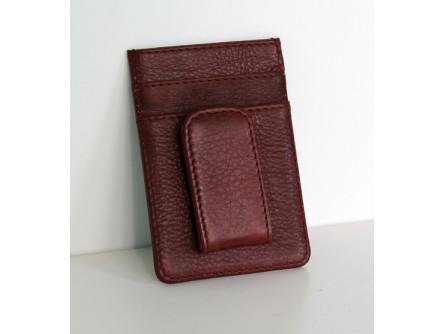 Money Clip Cow Leather Wallet – 69919 (Min 2pcs / per colour)