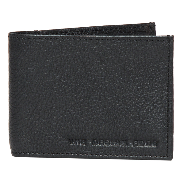 Grain Leather Slim Mens Wallet – 71039 (Min 2pcs)