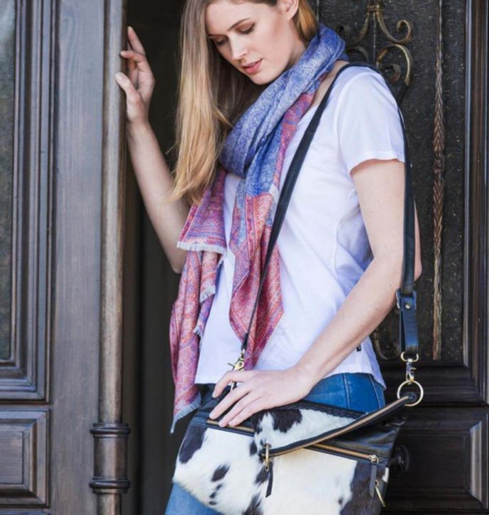 3 Way Cowhide Sling Bag – Paris (B70007)