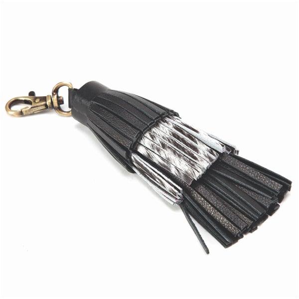 BC D-Tassel – Cowhide Bag Charm