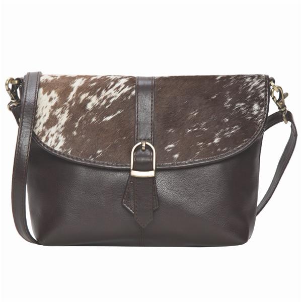 Flap Cowhide Bag – Bristol (B71010)