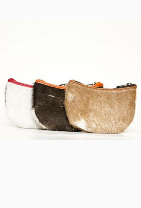 Change Cowhide Purse with Key Ring – Brazil (69983)