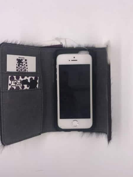 Cowhide Phone Cover Wallet – PerthM (69997M)