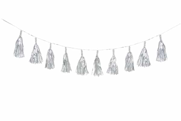 Silver Garland Small Home Decorative – FT1001