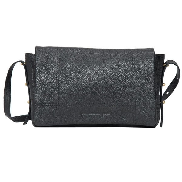 Grain Leather Rectangle Flap Bag – France (B71034)