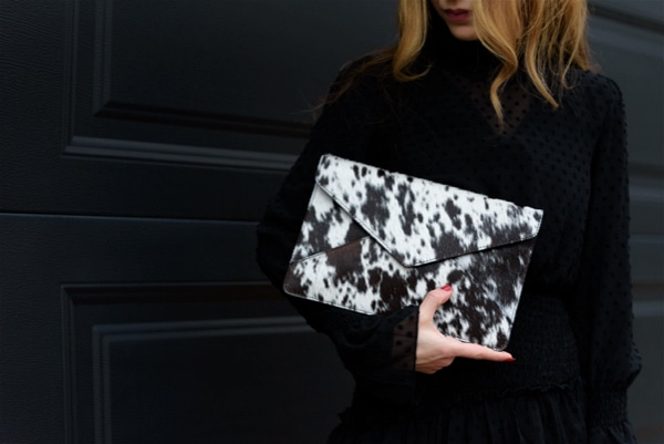 Envelope Cowhide Clutch – Graz (Env02)