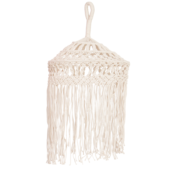 Macrame Lamp Wall Hanging – Home Decorative – MH02