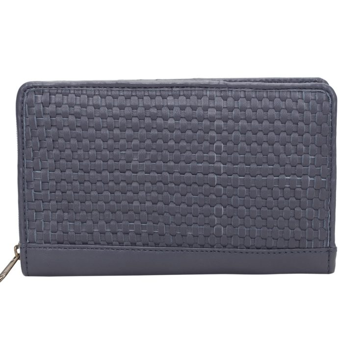 Small Travel Woven Wallet – GLASGOW (T70094)