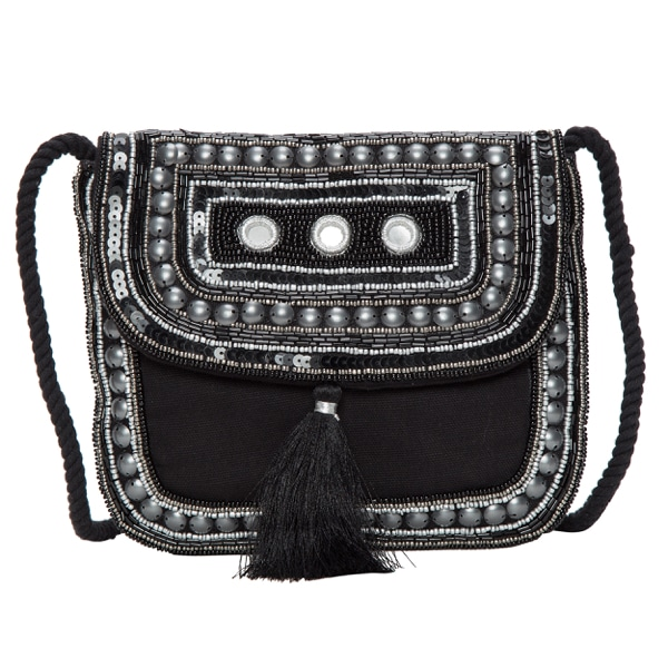 Hand Beaded Cross Body Bag – CB99