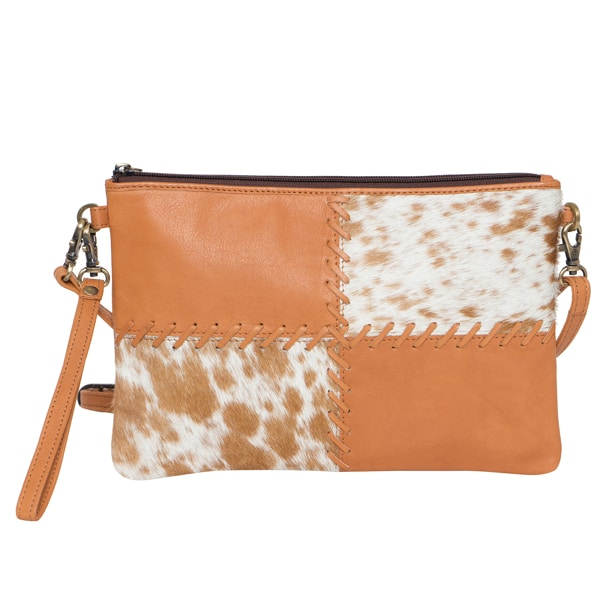 Boho Cowhide Clutch Bag – Lisbon (B71025)