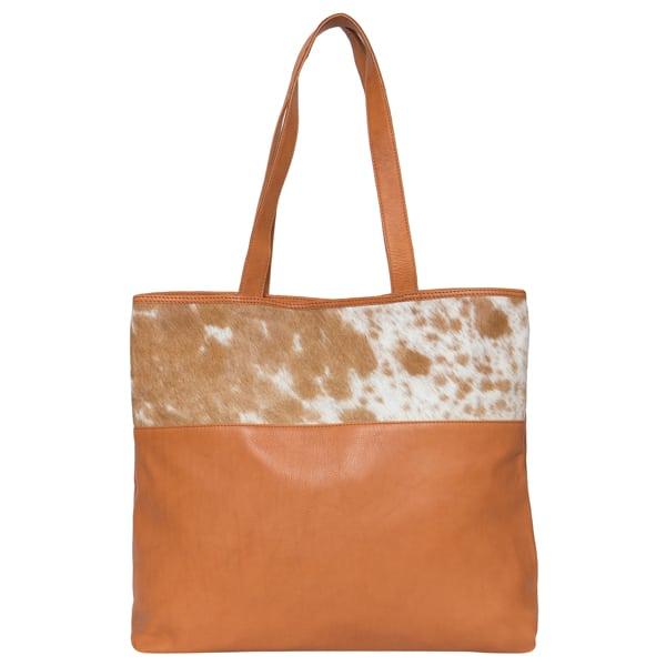 Big Ladies Cowhide Leather Bag – Macedonia (B71028)