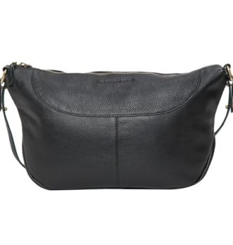 Naples black grain leather bag 330x348 Home Modern