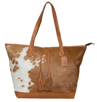 Portugal tan white cowhide bag 330x348 Home Modern
