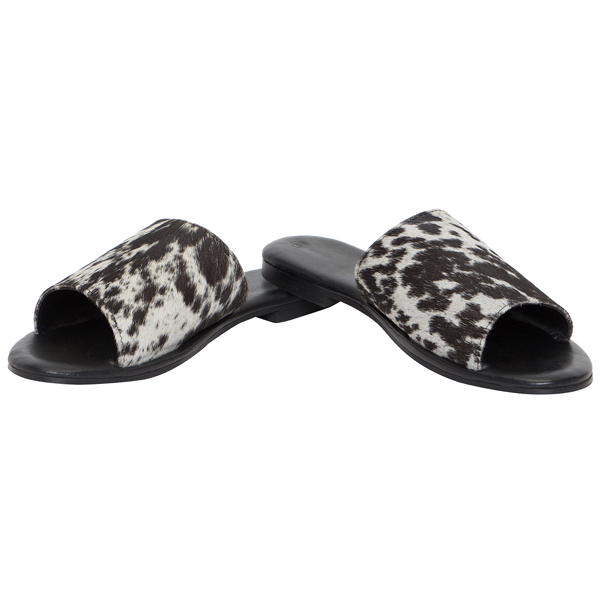 Hairon Slides Cowhide Footwear (Shoe27 – Min 3pcs – Assorted Sizes)