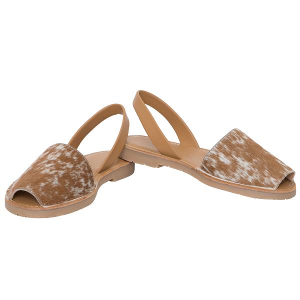 Hairon Slingback Cowhide Footwear (Shoe50 – Min 6pcs – Assorted Sizes)