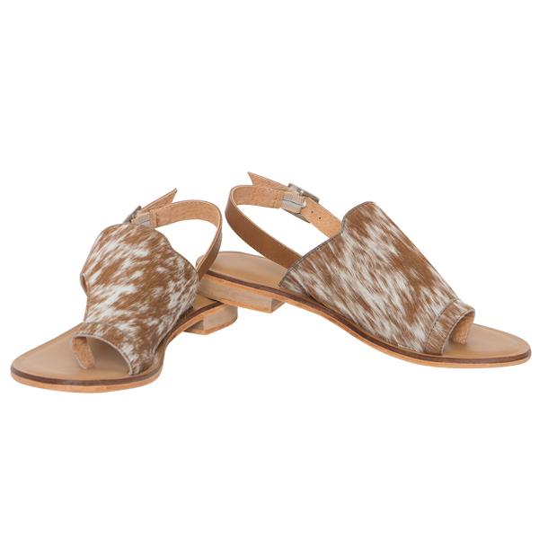 Hairon Toe Flat Sandals (Shoe53 – Min 6pcs – Assorted Sizes)