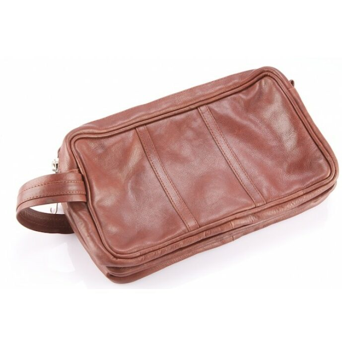 Cowhide Toiletries Bag – Canada (T69843)