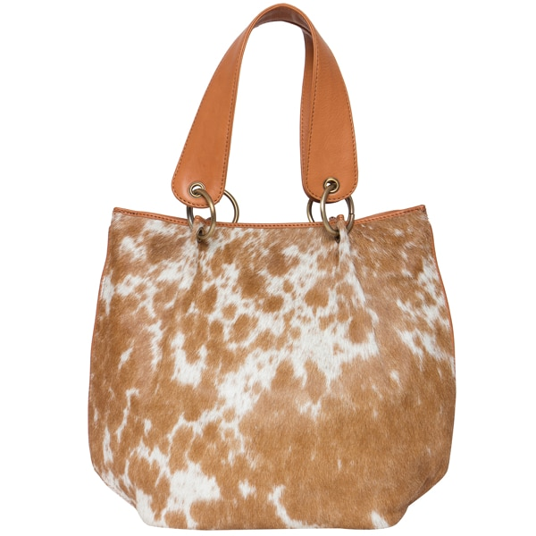 Bucket Cowhide Bag – Victoria (B71020)