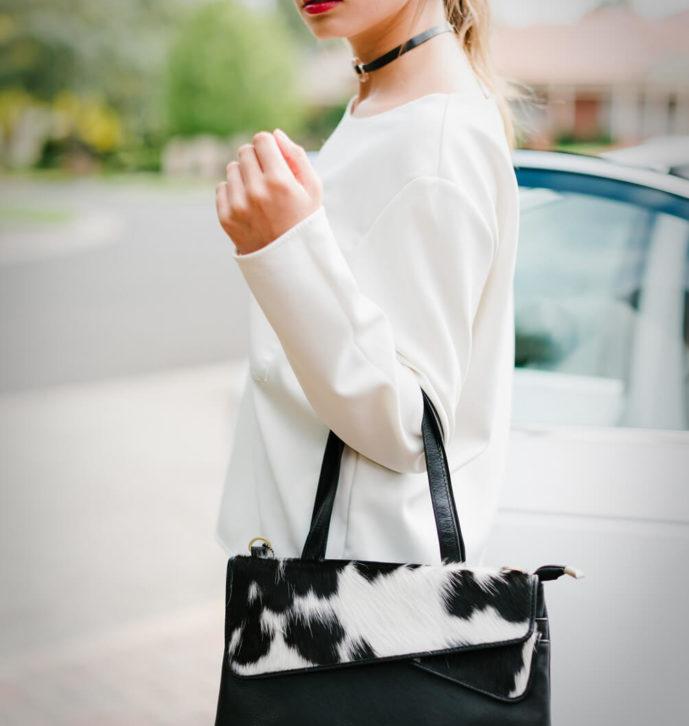 Ladies Cowhide Bag – Austria (B70077)