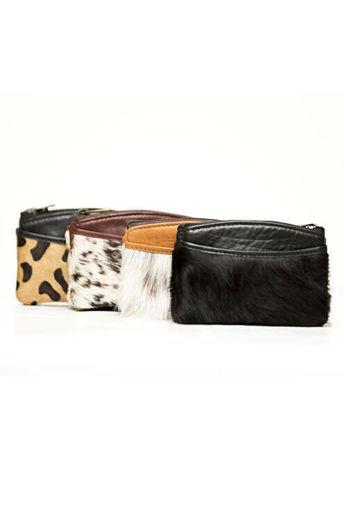 Card and Change Cowhide Purse – Florida (K69833)
