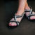 Cross Leather Sandals (Shoe10 – Min 3pcs – Assorted Sizes)