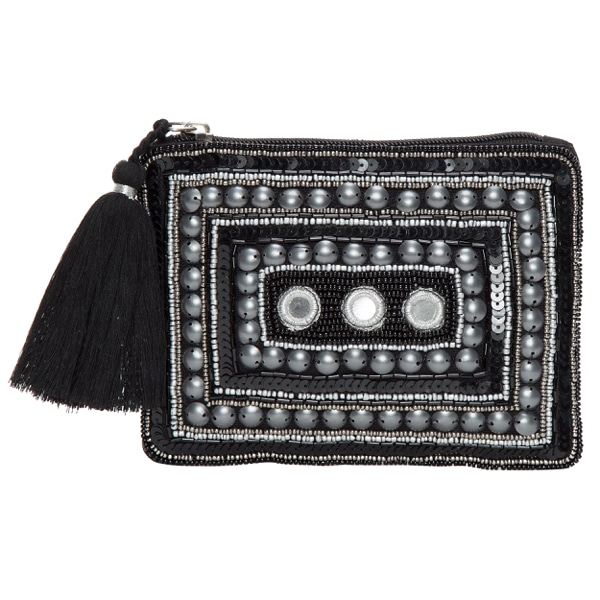 Hand Beaded Pouch Bag – CP026