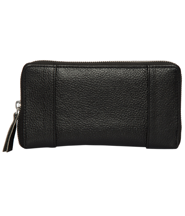 Grain Leather Zippered Wallet – Jackson (L71037)