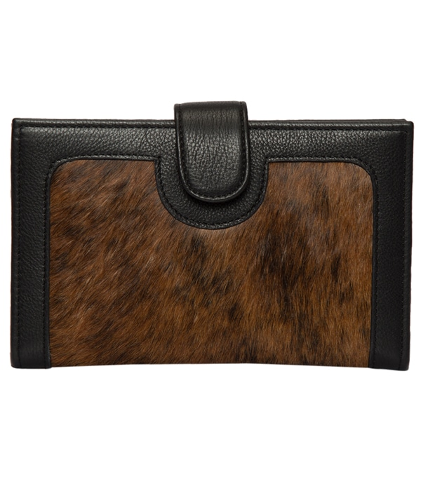 Brindle Cowhide Wallet – Los Angeles (L70014)