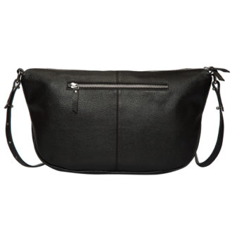 Naples black grain leather bag back 330x348 Home Modern