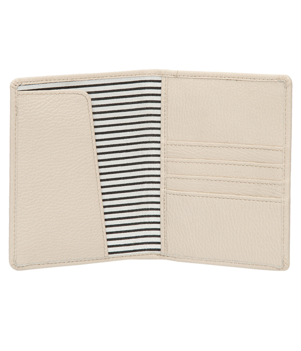 Grain Leather Slim Passport Case – Nusa Dua (T71043)