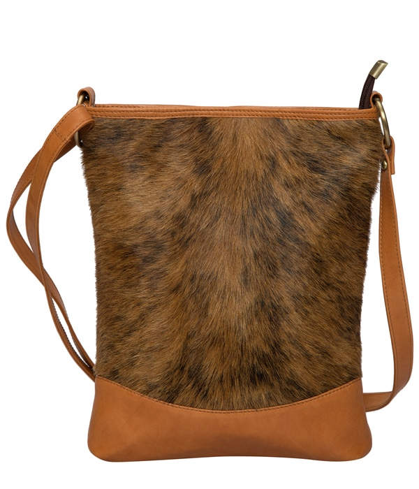 Brindle Cowhide Sling Bag – Oxford (B69907L)