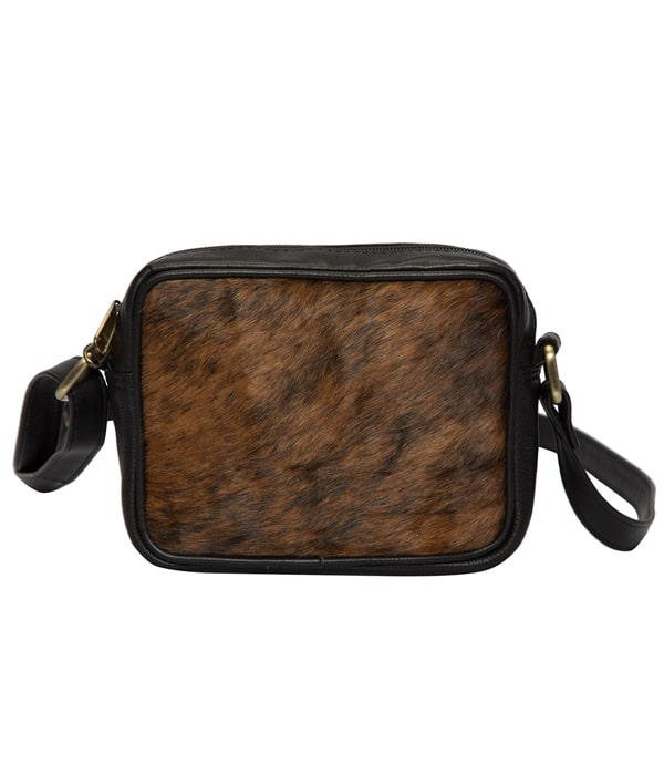 Brindle Cowhide Small Sling Bag- Porto (B70057)