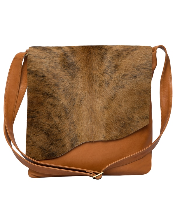 Brindle Hairon Wave Flap Bag- Prague (CA Wave)