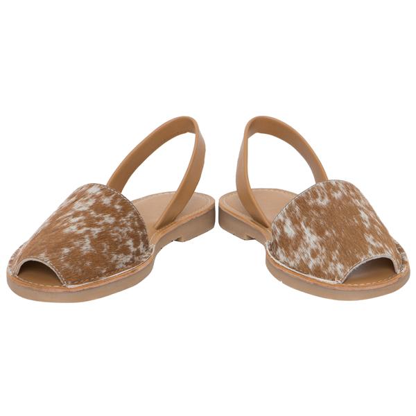 Hairon Slingback Cowhide Footwear (Shoe50 – Min 6pcs)