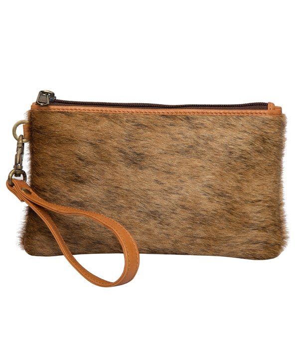 Brindle Cowhide Clutch – Toronto (69992)