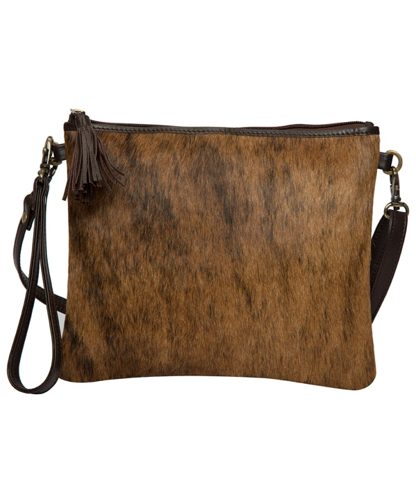 Brindle Cowhide Clutch Bag – TorontoD (69992D)