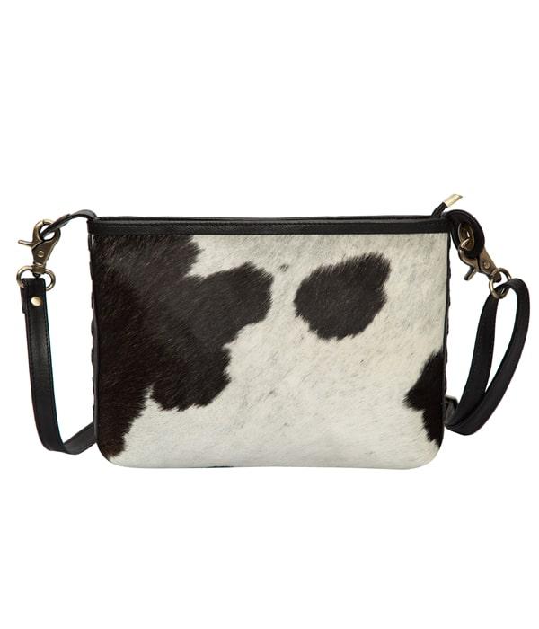 Rectangular Cowhide Sling Bag – Turin (B71021)