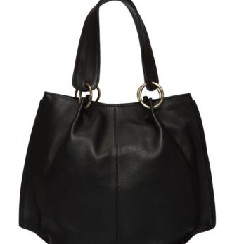 Victoria Brindle hairon black leather bag back 330x348 Home Modern