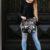 Ladies Cowhide Handbag – Milan (B69902L)