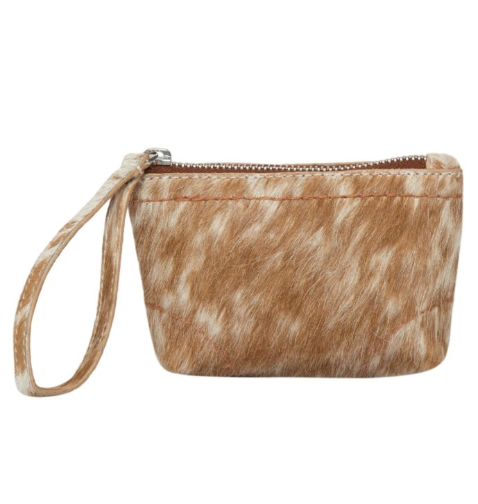 Small Hairon Cowhide Clutch – FLA02