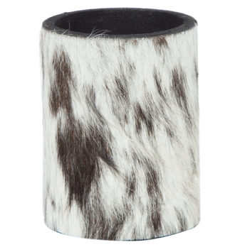 SH01 black white cowhide stubbie holder 330x348 Home Modern