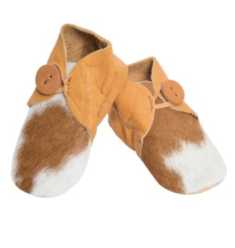 Booties tan white cowhide baby boots 330x348 Home Modern