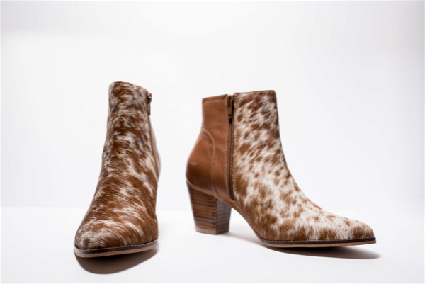 Hairon Boots Cowhide Footwear (Shoe24 – Min 6pcs)
