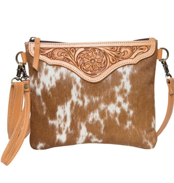 Tooling Leather Cowhide Clutch Bag – AB07