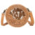 Tooling Leather Round Cowhide Bag – AB08