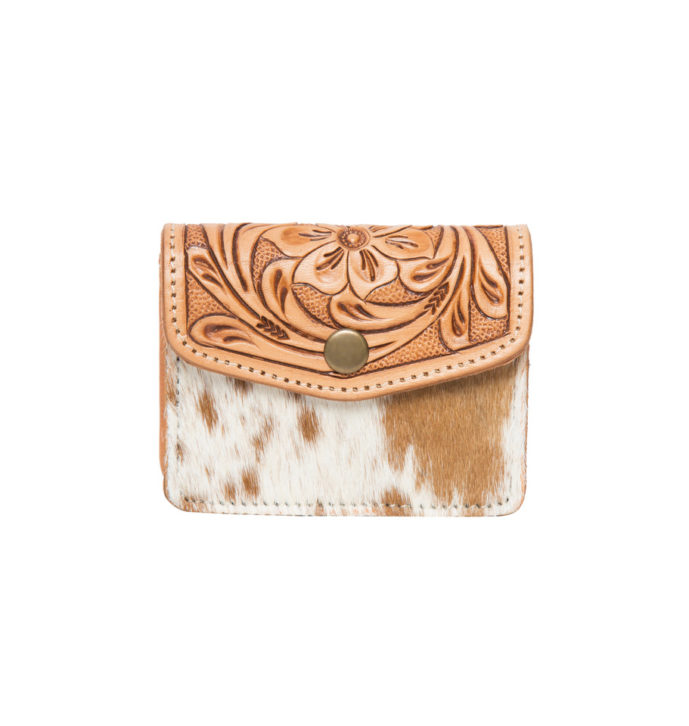 Tooling Leather Cowhide Purse – AC42