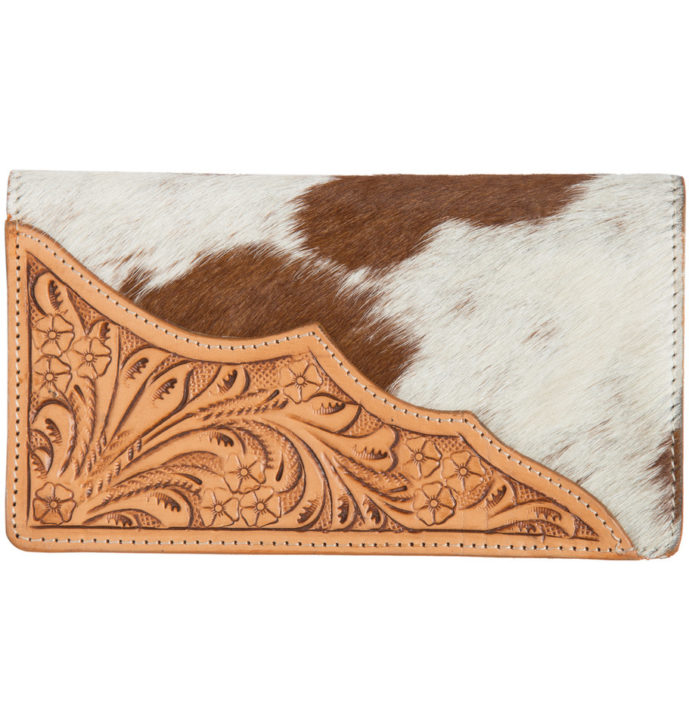 Tooling Leather Slim Cowhide Wallet – AW22